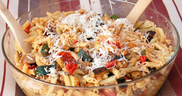 Roasted Vegetable Penne Pasta