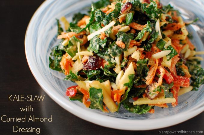 Curried Almond Dressing